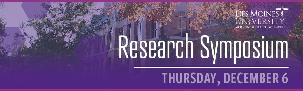 DMU Research Symposium | DMU CME