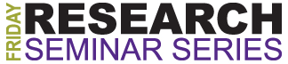 Friday Research Seminar Logo