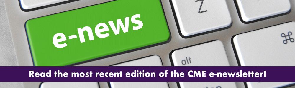 CME E-News Image