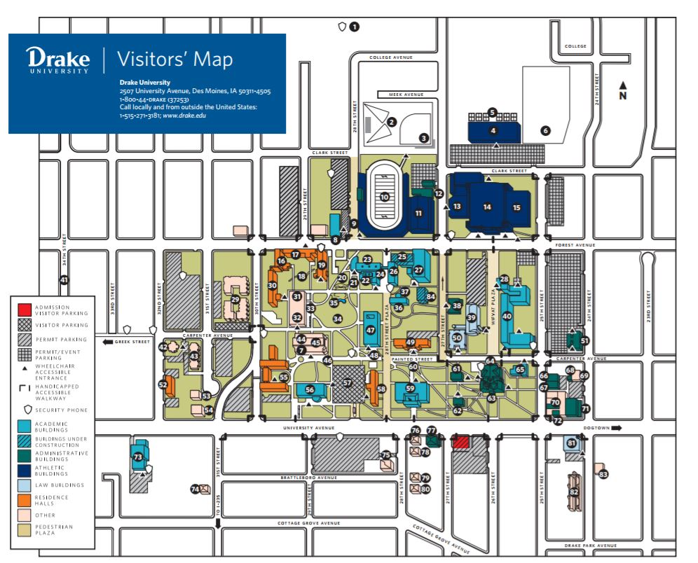 Northern Iowa Campus Map.9th Annual Global Health Conference Healthy Water Healthy World